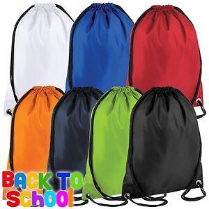 Drawstring Bag Kids School Bag Gym Bag Training Bag Child Bag Water Proof Bag