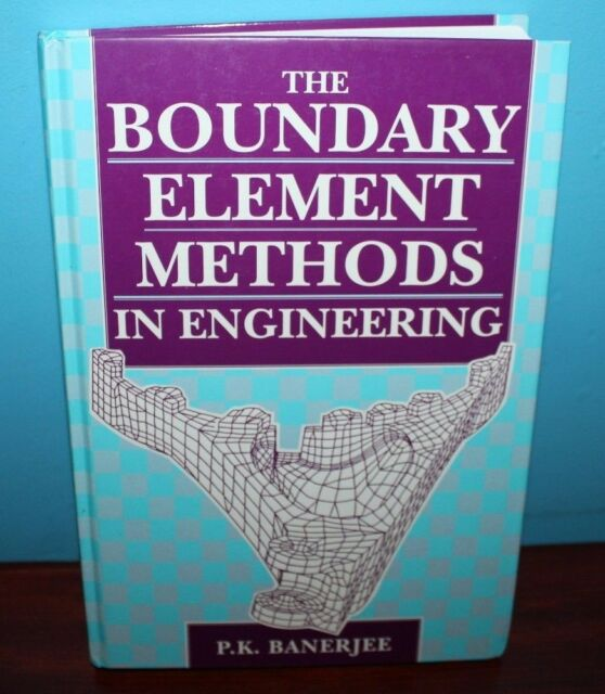 Boundary Element Methods in Engineering by P. K. Banerjee (1994, Hardcover)