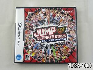 Jump-Ultimate-Stars-Nintendo-DS-Japanese-Import-Region-Free-NDS-JP-US-Seller