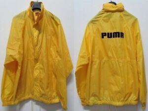 PUMA GIACCA D6/L JACKET KWAY K-WAY JERSEY WIND RAIN SKOOL VINTAGE ...