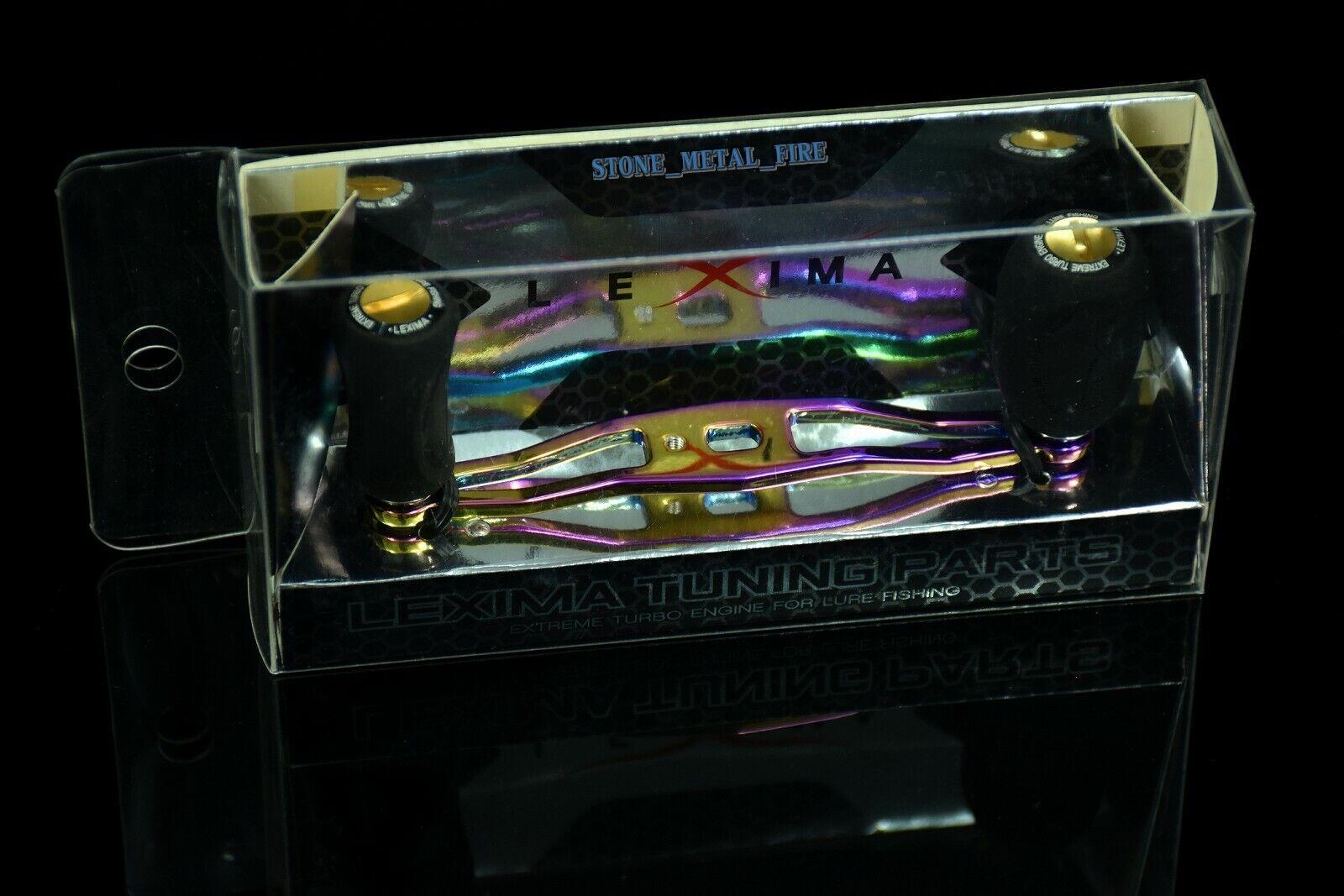 LEXIMA Duralumin Handle for Abu garcia , Daiwa  , Quantum Baitcasting Reel.  for sale online