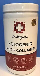 Best Collagen Powder 2021 Dr Magica's Ketogenic MCT+Collagen Powder 10.58oz Unflavored  Best