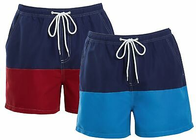 Vornehm Mens Boys Matching Swim Shorts Summer Holiday Beach Mini Me Father Son Swimwear GroßEs Sortiment