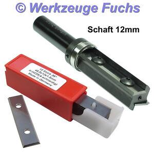 """Bündigfräser D 12,7 x 50 x Schaft 12mm HM 1//2/"""" x 50mm Kopierfräser"""