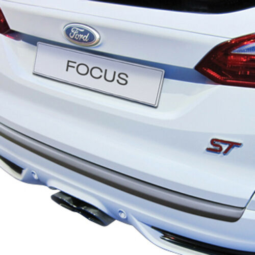 RGM Black Rear Bumper Guard For Ford Focus Estate 2011-2014