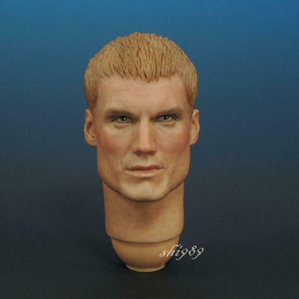 1 6 DAMTOYS X Blitzway DMS001 Universal pie soldado Andrew Scott cabeza esculpida