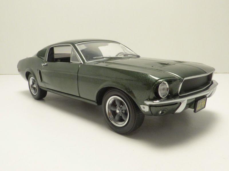 FORD MUSTANG GT BULLITT 1968 Steve McQueen 1 24