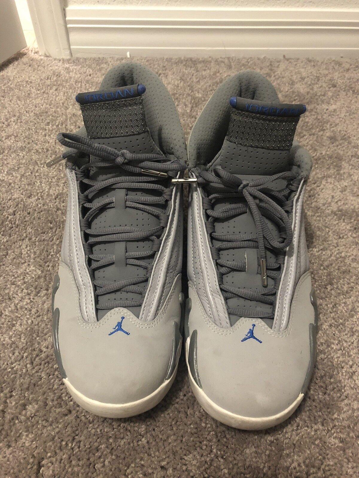 "Air Jordan Retro 14 ""sport Blue"" Size 10.5"