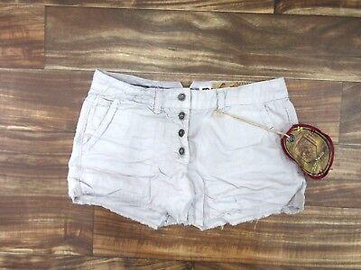 NEW Da-Nang Women/'s Bermuda Shorts Gray Pockets CS51982 Size X-SMALL