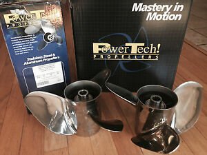 Details about PowerTech! OFX3 Right & Left Stainless Propeller [PT-OFX3]
