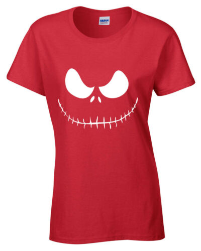 Jack Skellington T-Shirt The Nightmare Before Christmas Womens Ladies