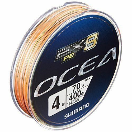 SHIMANO PE LINE 400m OCEA EX8 400m LINE  4 70.0lb multi PL-088L  Fishing LINE From JAPAN 5dc98f