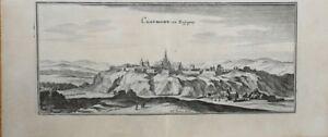 Merian, Panorama De Chaumont En Bassigny, 1657