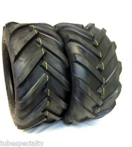 TWO NEW 16X6.50-8 LUG R1 Lawnmower Tractor Tire SUPER LUG 16 6.50 8