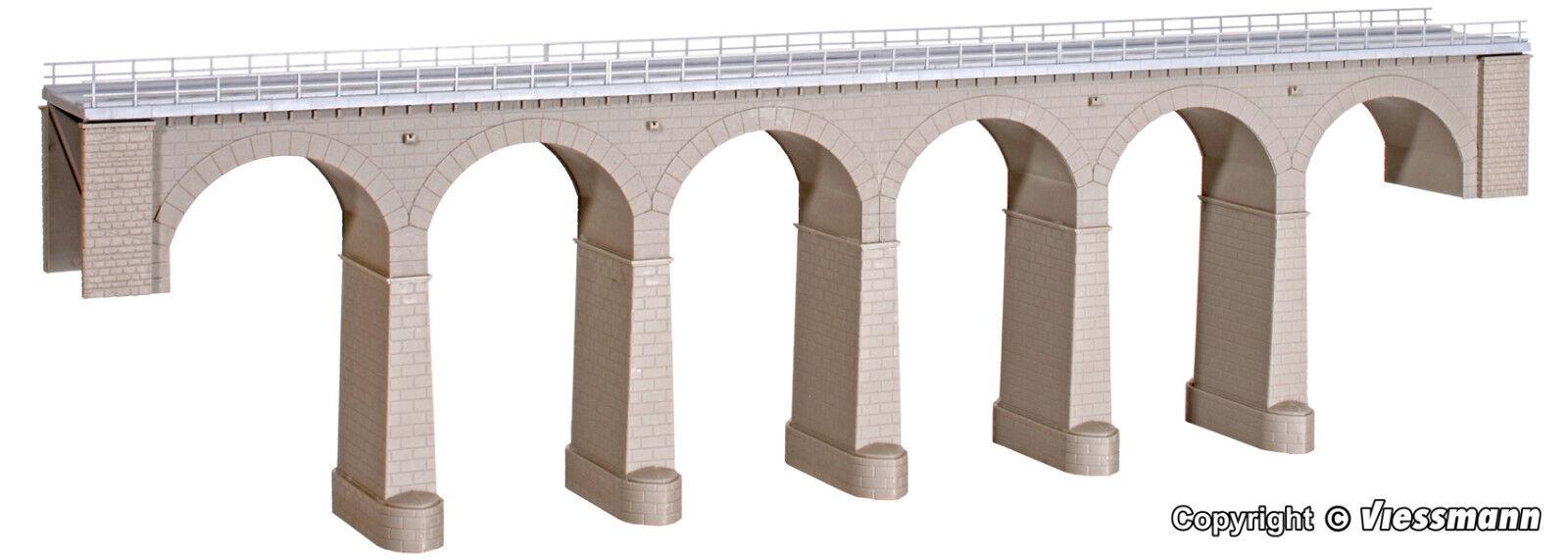 Kibri H0  39724  Aachtal-Viadukt gerade f. C-Gleis  NEU OVP  | Lebhaft und liebenswert