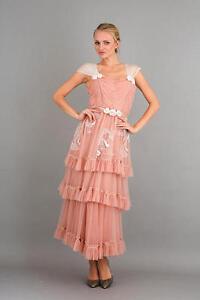 3fb3c8a8644 75% OFF! Nataya Romantic 40244 Vintage Inspired Dress Pink Sizes S ...