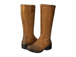 Keen-Womens-Tyretread-Tall-Side-Zip-Pull-On-Winter-Snow-Casual-Riding-Boots