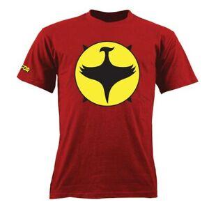 Zagor-Sergio-Bonelli-Simbolo-Classico-T-Shirt-Ufficiale-Rossa-Unisex-Tg-L