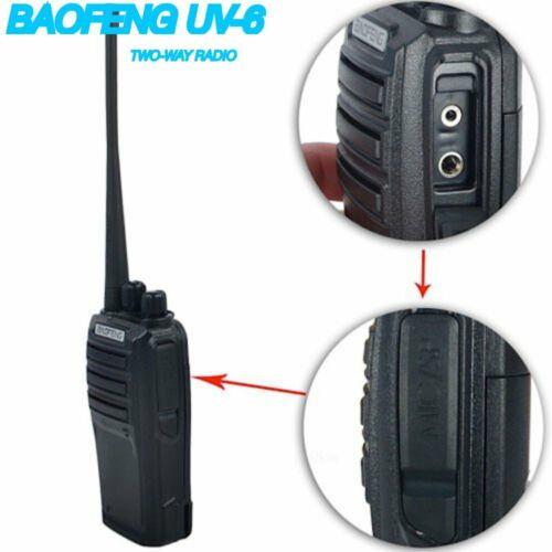 BAOFENG UV-6 Two-Way Radio 136-174//400-480MHZ UHF//VHF Ham Dual Band Transceiver