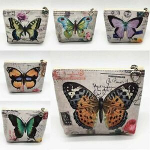 Women-Small-Wallet-Bags-Butterfly-Coin-Purse-Canvas-Key-Holder-Wallet-Kzs