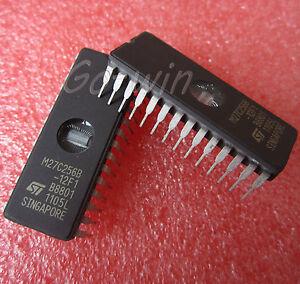 5PCS-IC-M27C256B-12F1-27C256-EPROM-UV-256kbit-CDIP-28-ST-NEW-High-quality