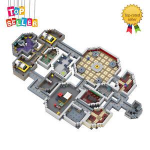 Building Blocks Toys Sets Among Us the Skeld Full Map Model MOC-53670 for Kids