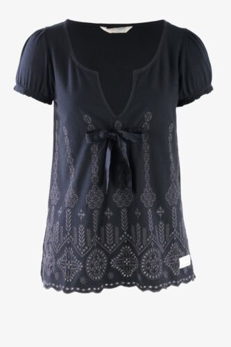 ODD MOLLY 375 SURPRISE TOP ALMOST BLACK SZ 0 OR 1 £89
