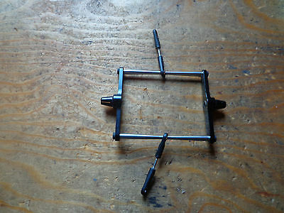 TREX 700 BLACK ALLOY FLYBAR SEESAW ASSEMBLY WITH LINKS