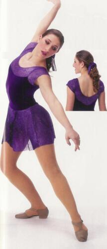 Awakening Ballet Lyrical Ice Skating Dance Dress Costume Child Medium /& Large