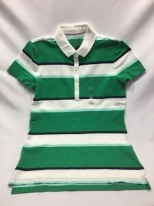 1fee9be7 NWT Authentic Tommy Hilfiger Women's Short Sleeve Button Polo Shirt ...