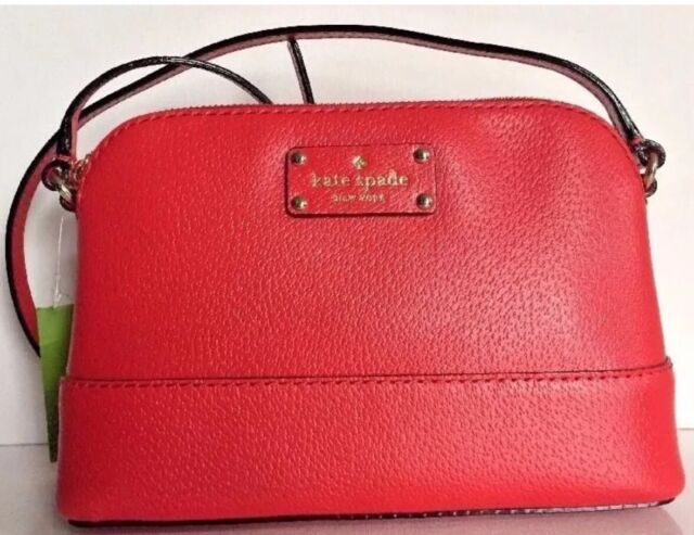 Nwt Kate Spade Hanna Wellesley Crossbody Handbag Wkru2895 Cherry Liquor 198