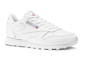 Details zu Reebok 2232 Classic Leather White Damen Sneaker Schuhe Eu 39 Us 8,5 Neu