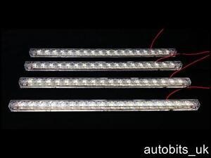 4 X 18 Led 12v Licht Strip Leiste Unter Kuchenschrank Decke Kuppel