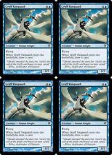 4x GRYFF VANGUARD Avacyn Restored MTG Blue Creature—Human Knight Com