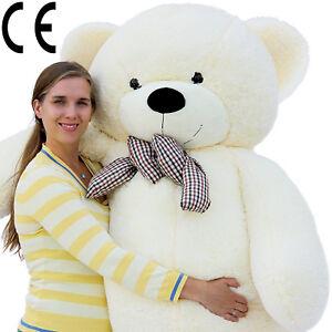 Joyfay® Large Teddy Bear XXL Giant Teddy Bear Plush Toy 100/120/160/200/230 cm