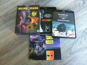 Willard-Ben-LIMITED-EDITION-BOX-SET-Poster-BLU-RAY-englisch-wie-neu