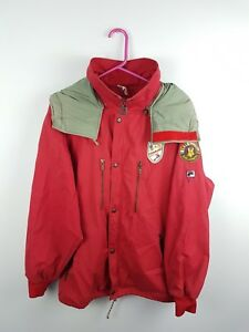 Details about VTG RETRO MENS BRIGHT BOLD ATHLETIC SPORTS RARE FILA ZIP UP OUTDOOR JACKET COAT
