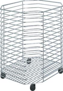 Hamper Mobile Mesh Basket With Castors Laundry Basket