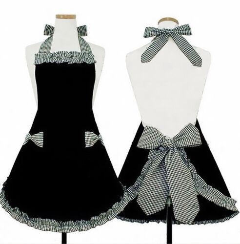 Hyzrz Cute Retro Lovely Vintage Lady/'s Kitchen Fashion Flirty Women/'s Aprons New