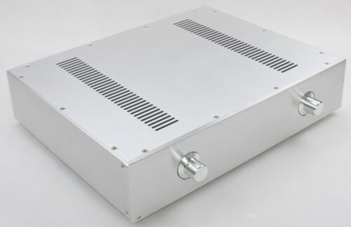 WA59 Amplifier Aluminum Chassis Enclosure Box Case Shell for Audio AMP