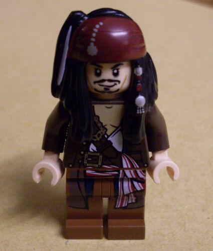Captain Jack Sparrow Figur with Jacket mit Jacke Neu Lego Fluch der Karibik