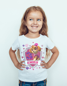 Paw-patrol-Birthday-T-shirt-Featuring-Skye-Kids-Toddler-children-baby