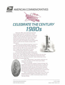 593-33c-Celebrate-the-Century-3190-1980-039-s-USPS-Commemorative-Stamp-Panel