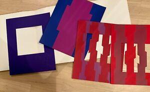 Jurgen-piccolo-cartella-per-esposizione-034-reciproche-strisce-039-arte-Halle-Tubingen-1972