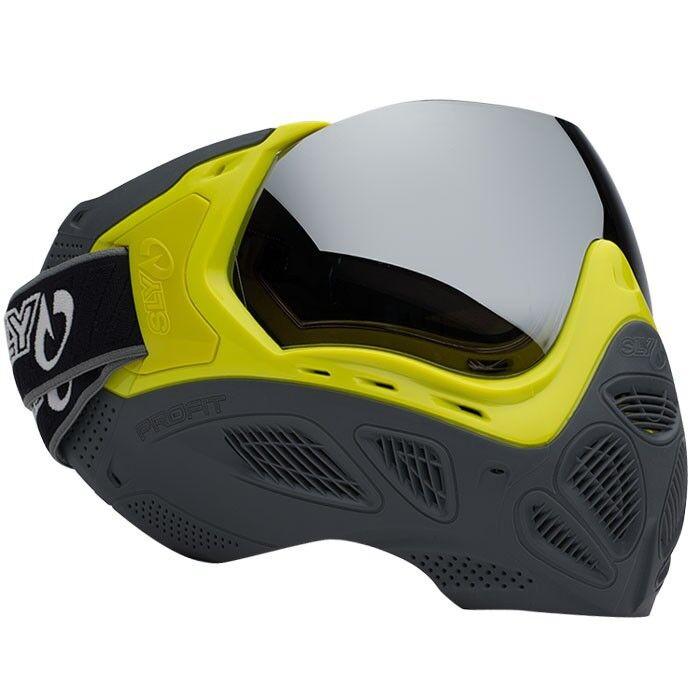 Sly Profit Paintball Maske LE - Highlighter Grey