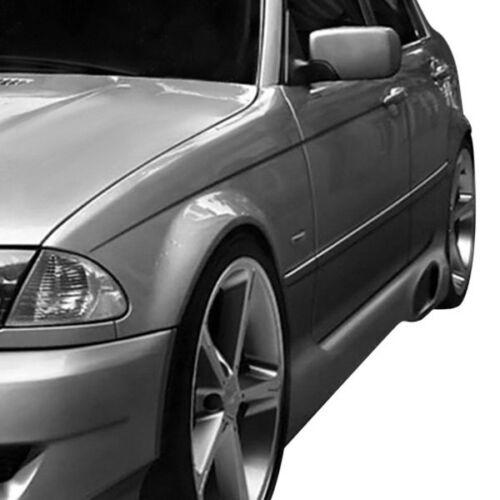 For BMW 325xi 01-06 I-Design Style Fiberglass Side Skirt Rocker Panels Unpainted