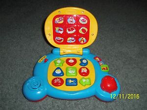 Vtech Baby S Learning Laptop Euc My First Pc Computer Toddler Toy