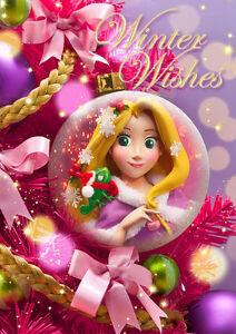 Disney rapunzel christmas ornament 3d lenticular greeting card 3d image is loading disney rapunzel christmas ornament 3d lenticular greeting card m4hsunfo