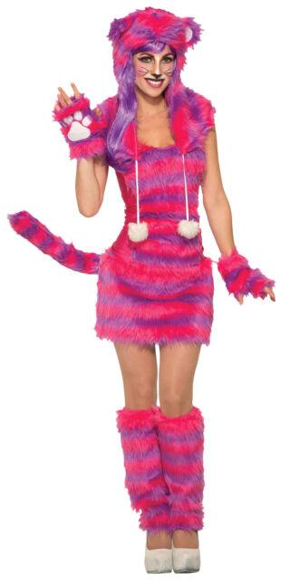 Fancy Dress Costume ~ Disney Sassy Cheshire Cat Size 6-18