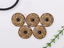 10X-Western-3D-Flower-Turquoise-Conchos-For-Leather-Craft-Bag-Belt-Purse-Decor miniature 7